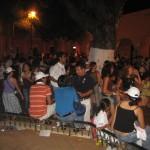 Heißer Hinterhof-Salsa in Merida