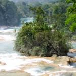Die Wasserfälle von Agua Azul