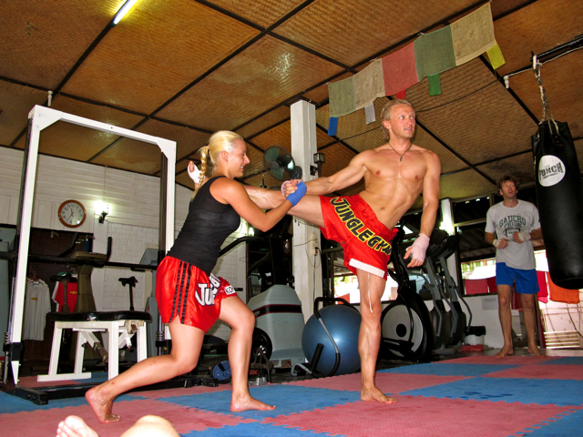 IMG 3464 Muay Thai  Immer schn auf die Fresse  
