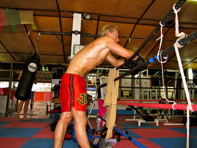 IMG 3558 Muay Thai  Immer schn auf die Fresse  