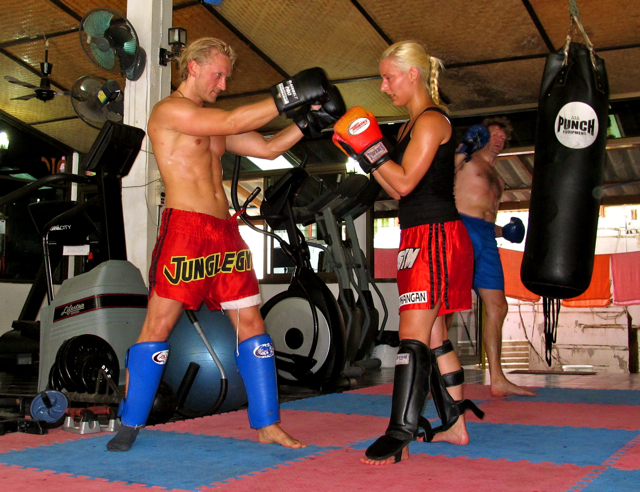 IMG 35631 Muay Thai  Immer schn auf die Fresse  