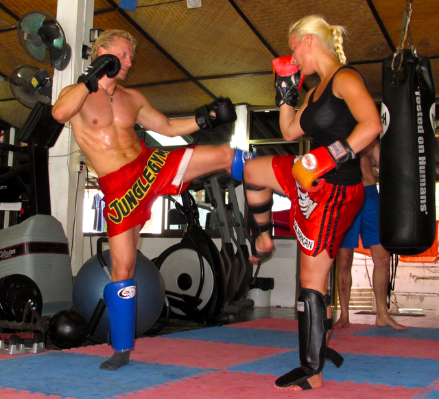 IMG 3565 Muay Thai  Immer schn auf die Fresse  