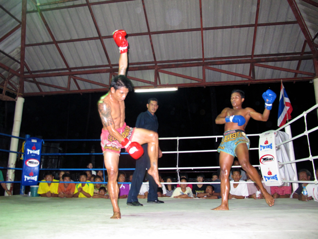 IMG 4943 Muay Thai  Immer schn auf die Fresse  