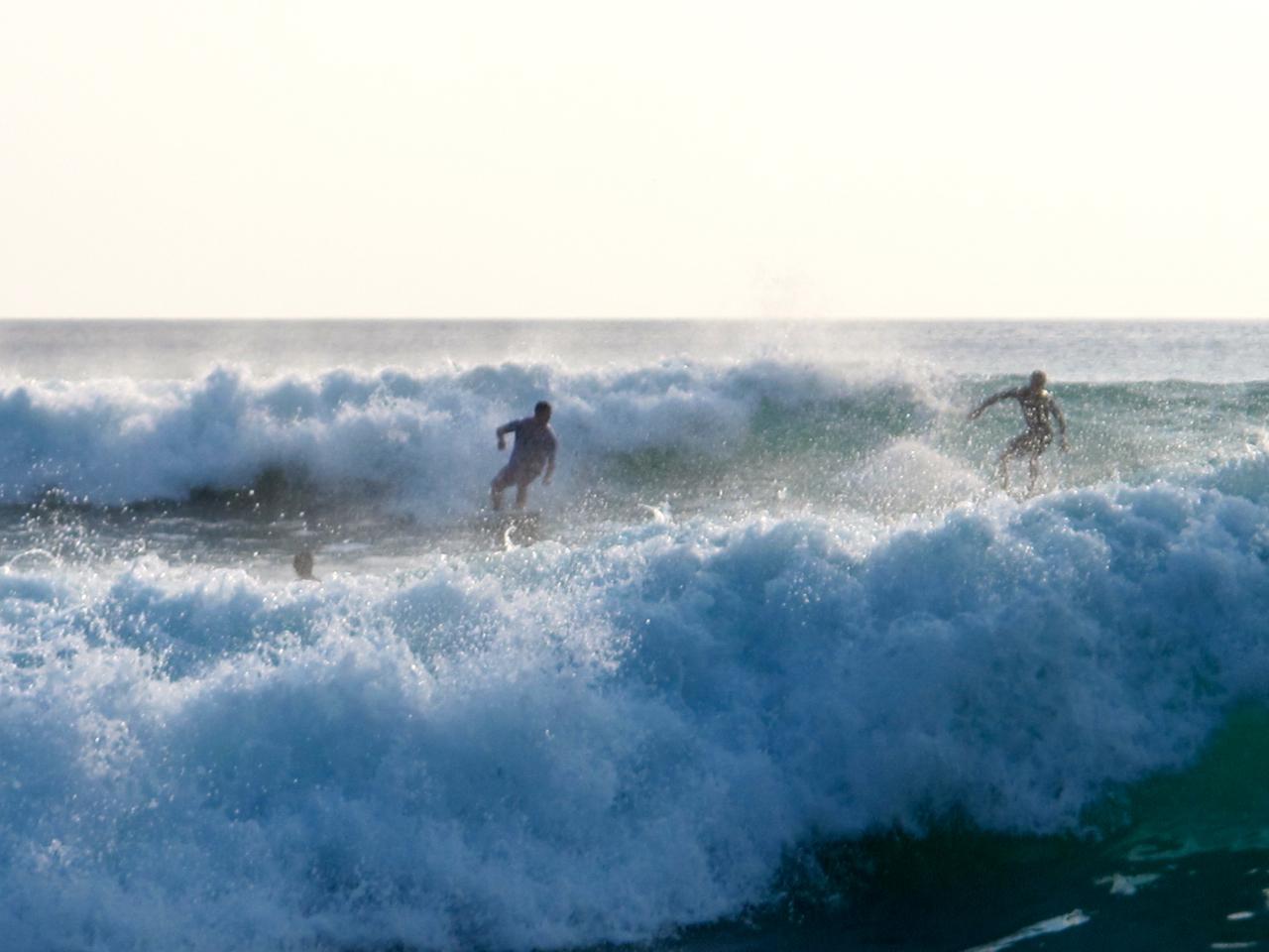 Surfer auf Bali