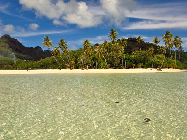 Tereia Beach, Maupiti