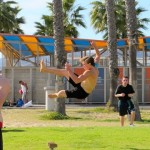 Welcome to the show – Santa Monica Muscle Beach
