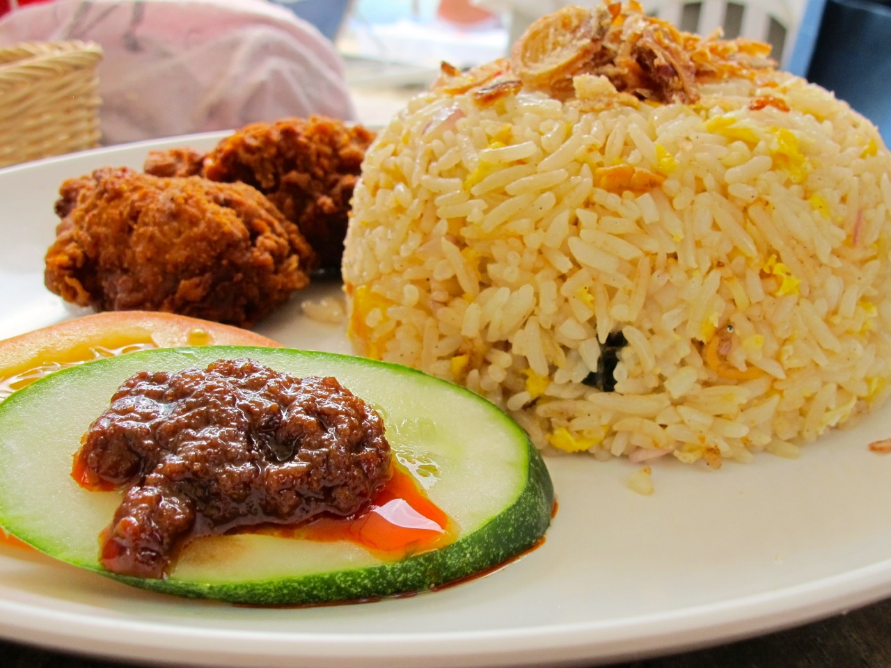Fried Rice Chicken