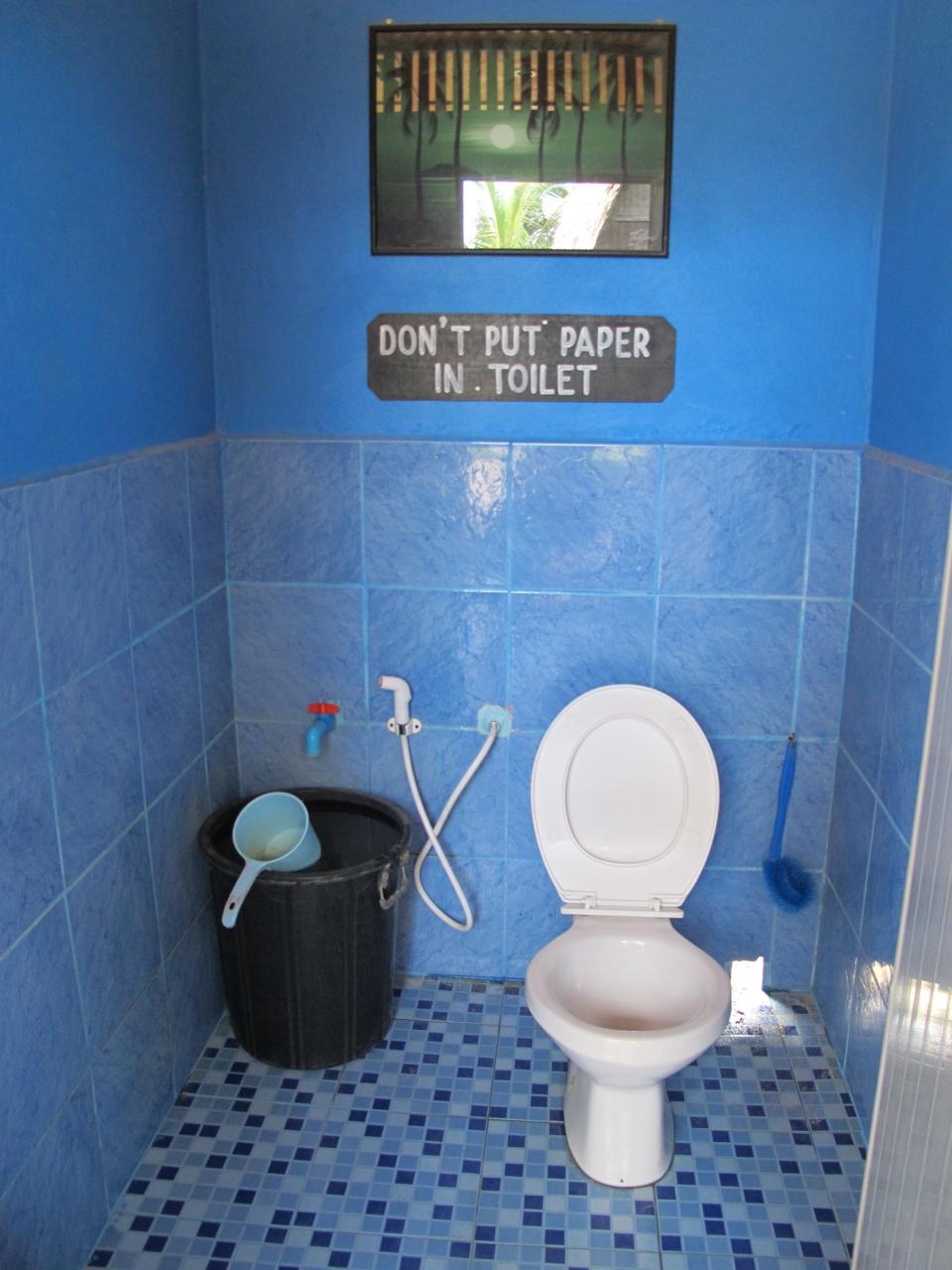 Toilette New Hut Bungalow