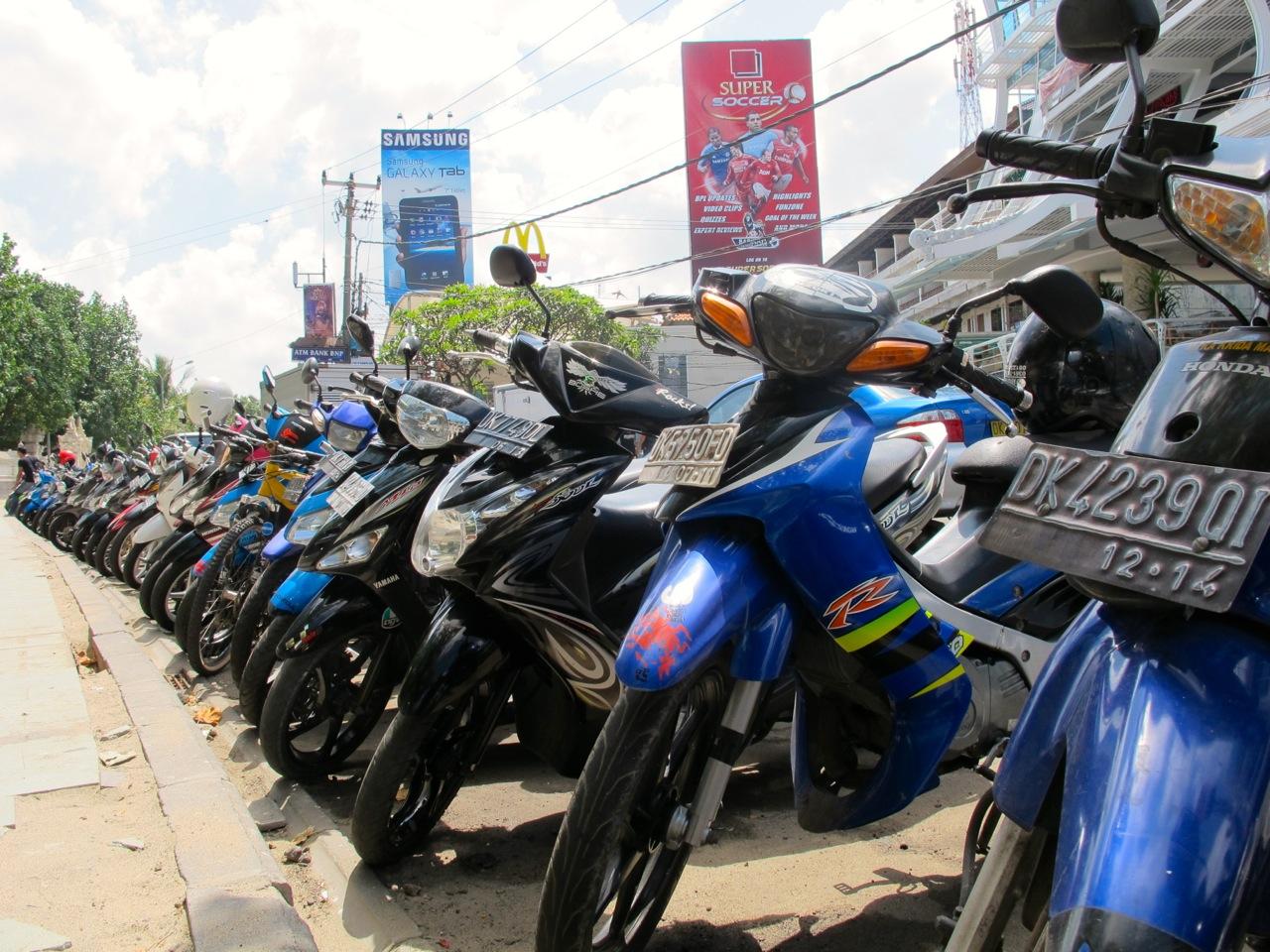 Motobike auf Bali