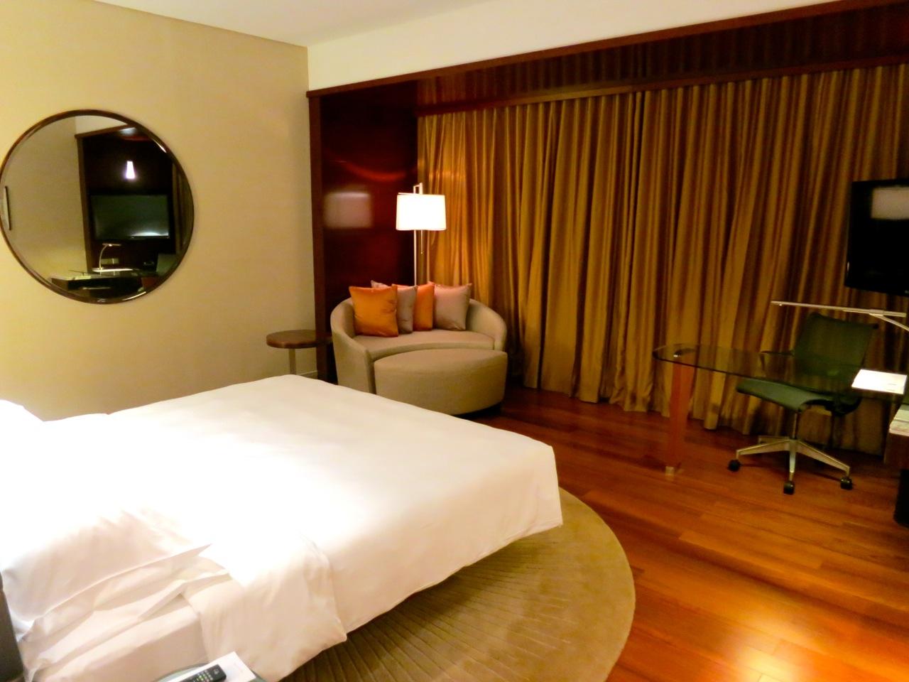 Grand Hyatt room Kuala Lumpur