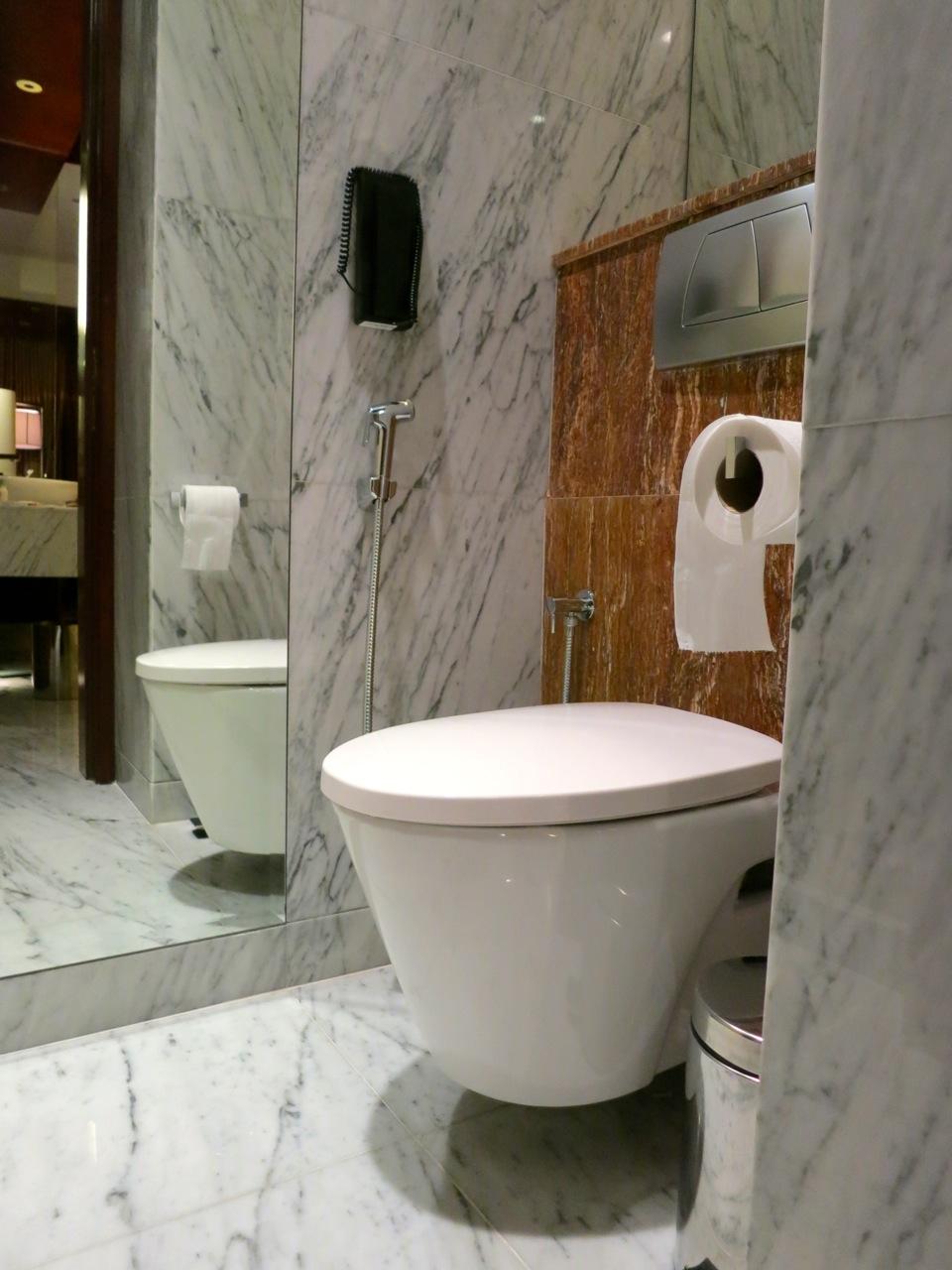 Grand Hyatt Kuala Lumpur toilet