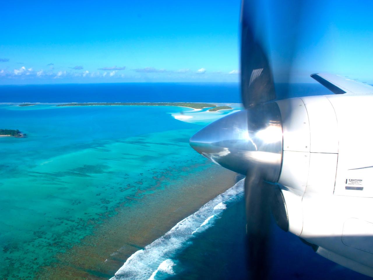 Aitutaki aerial photograph