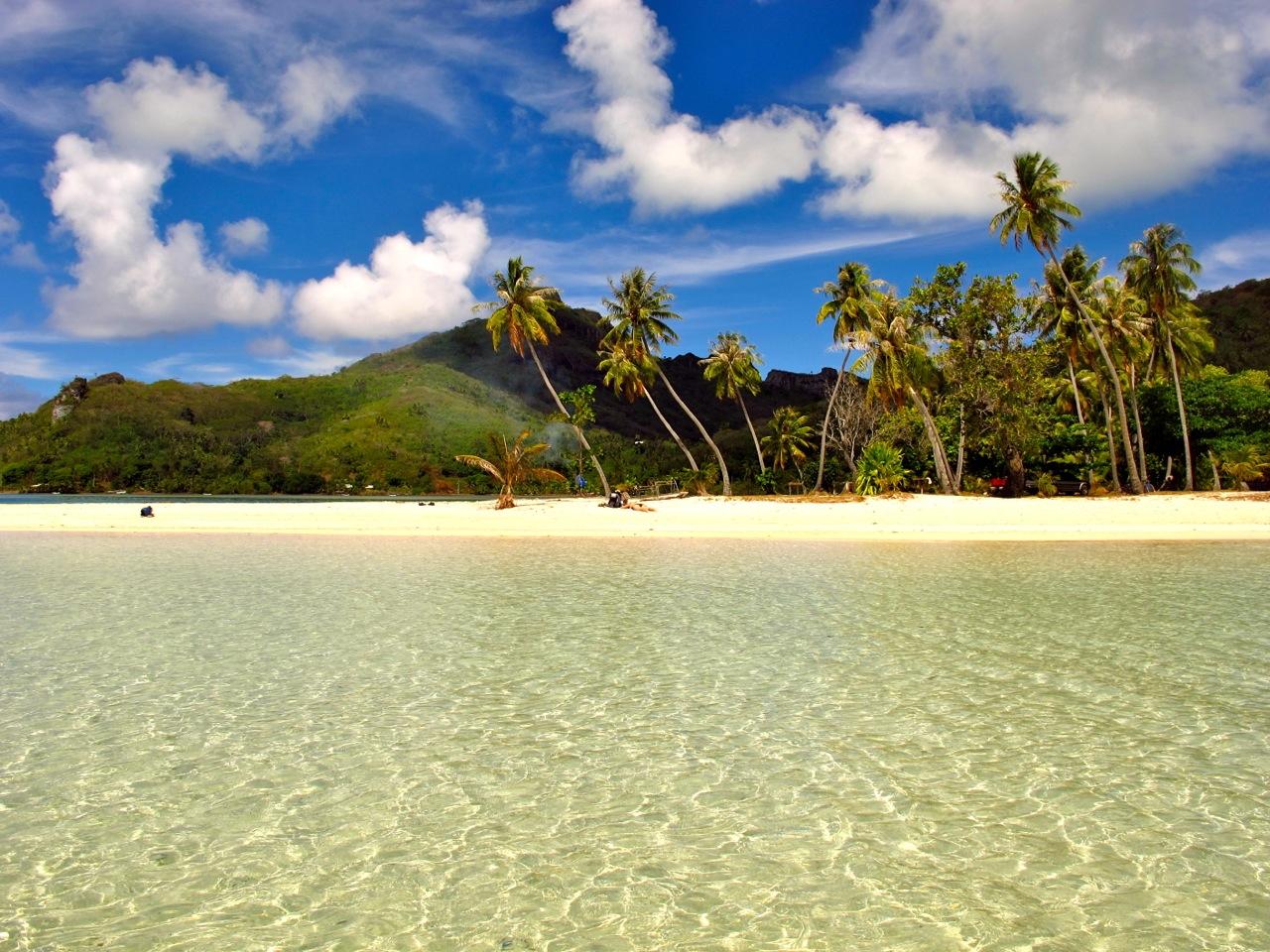 Beaches in French Polynesia