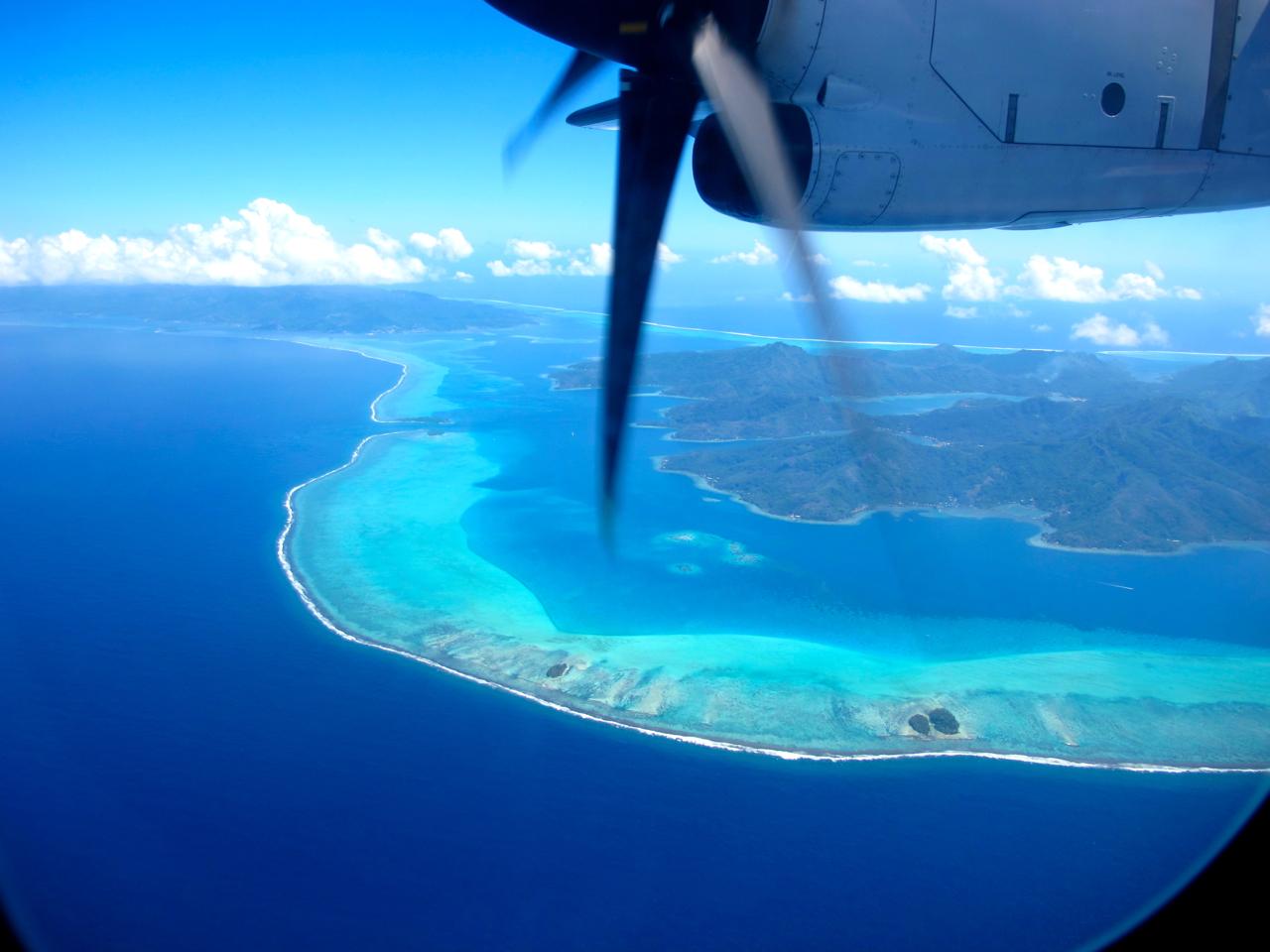Bora Bora 3 aerial photograph