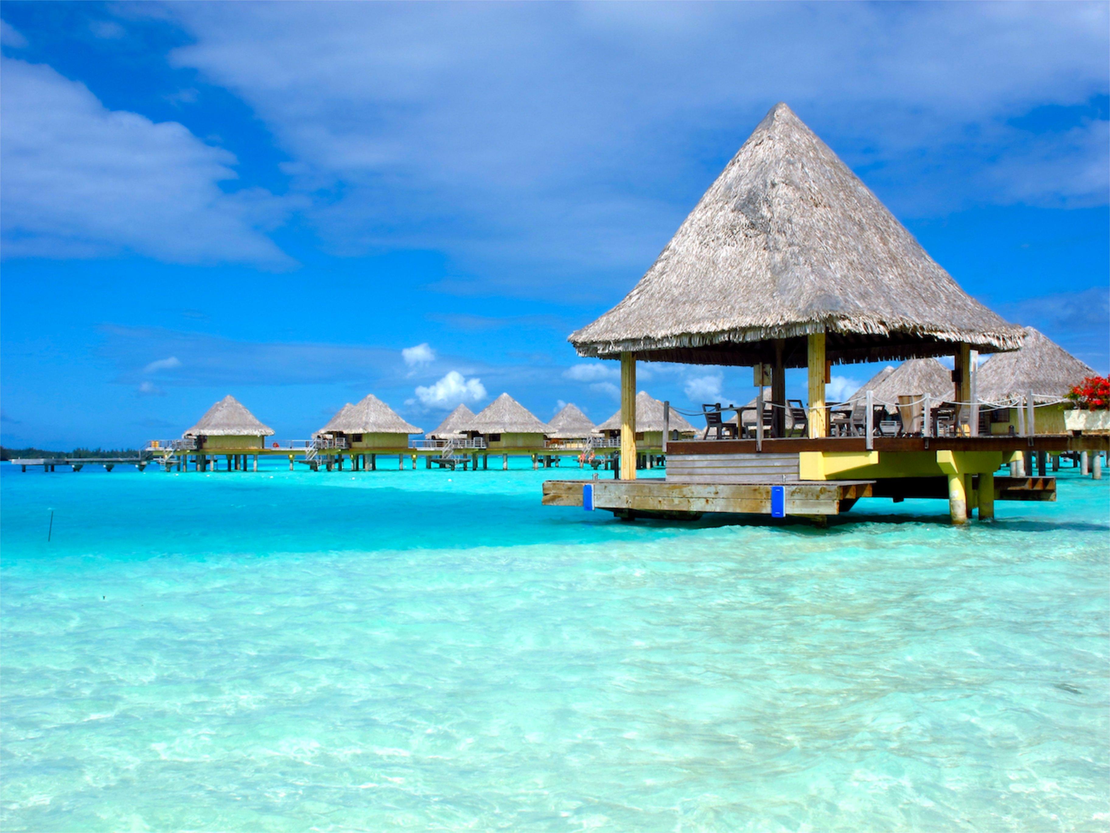 Bora Bora Französisch Polynesien Strand