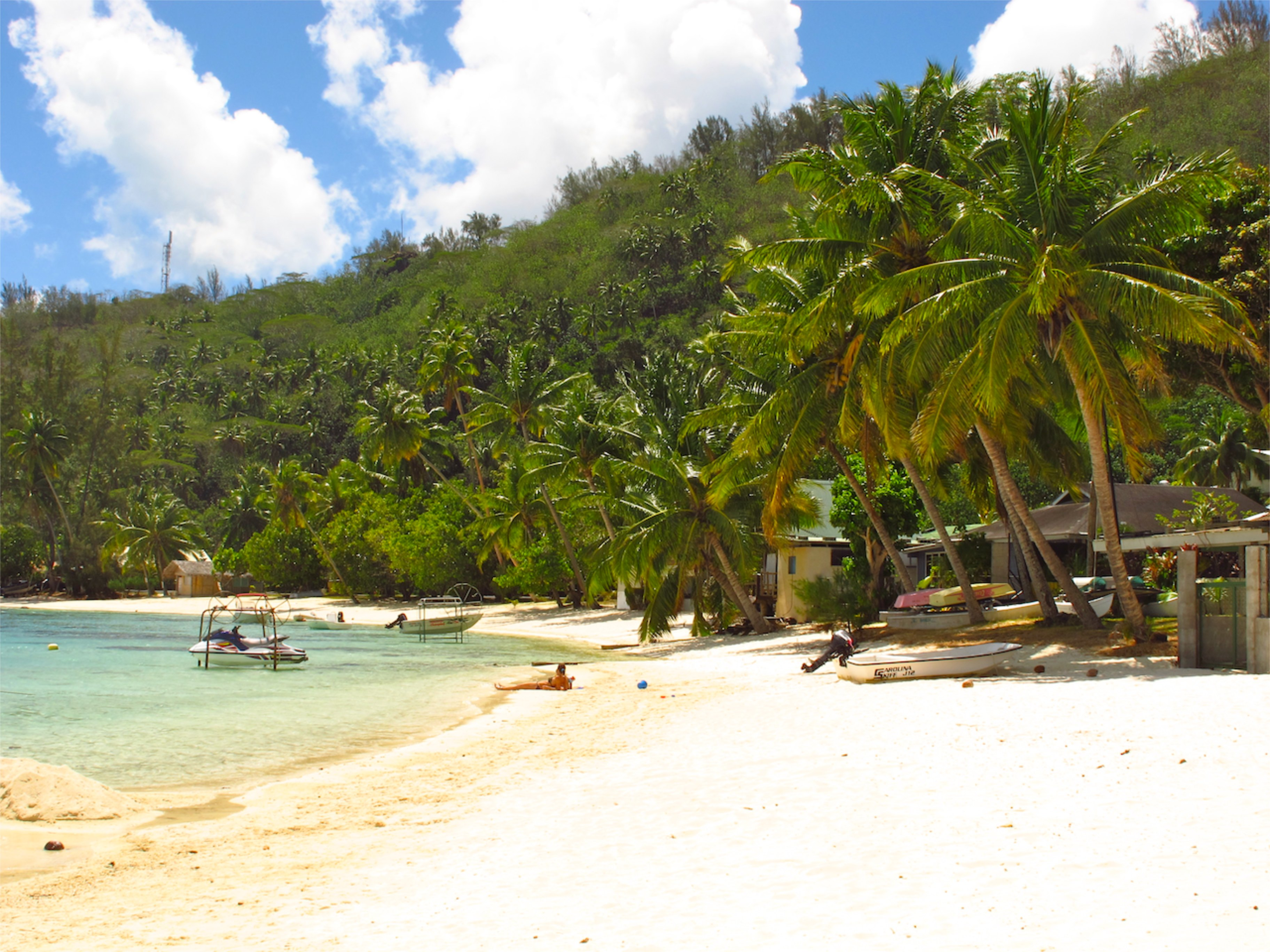 Bora Bora Strand Französisch Polynesien