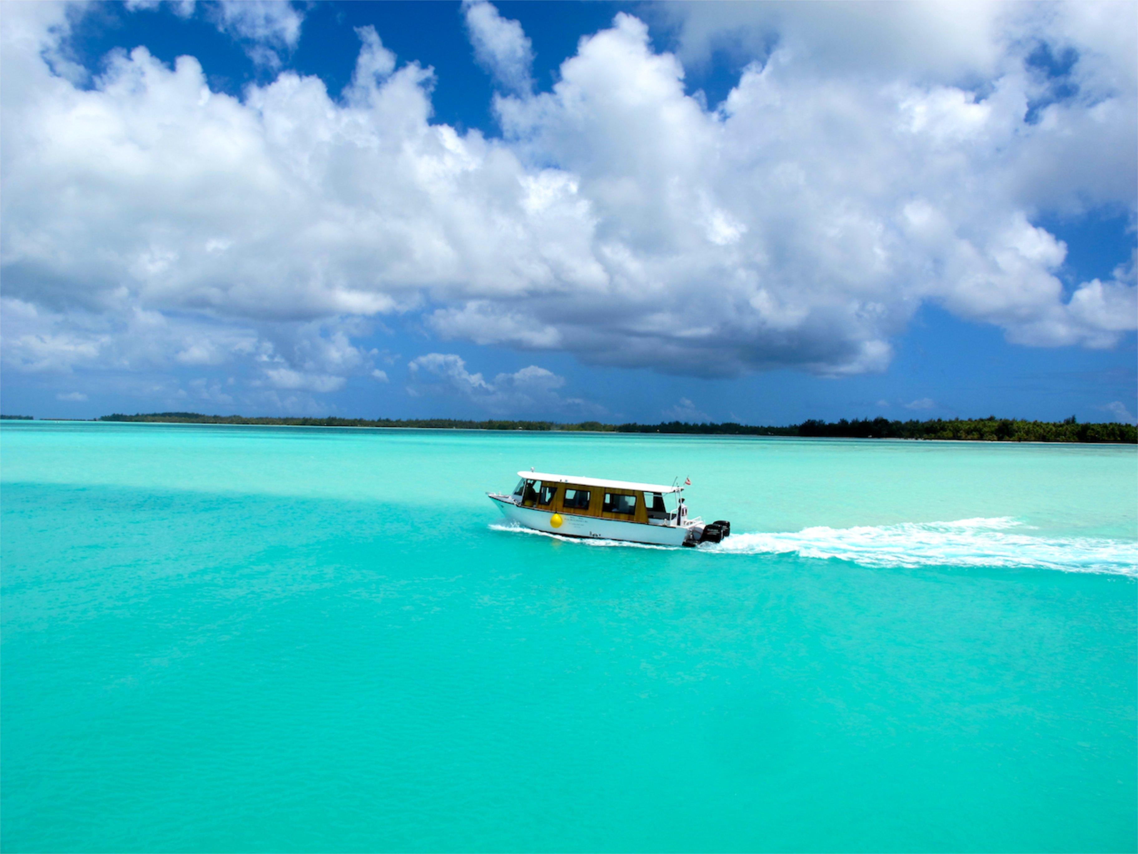 French Polynesia Lagoon
