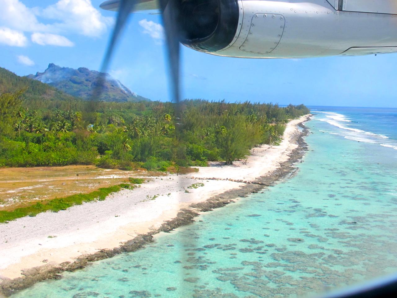 Huahine aerial photograph