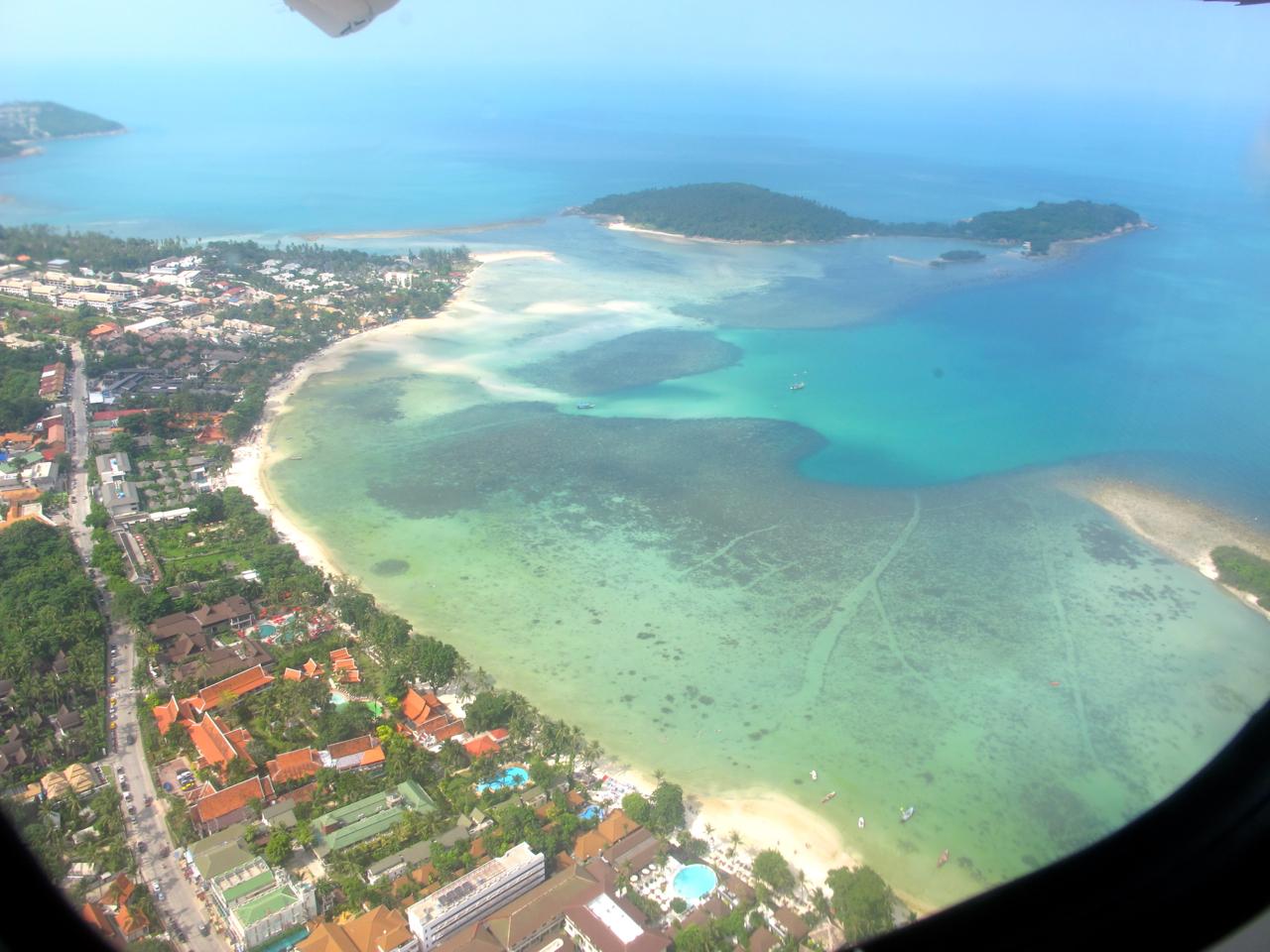 Ko Samui aerial photograph