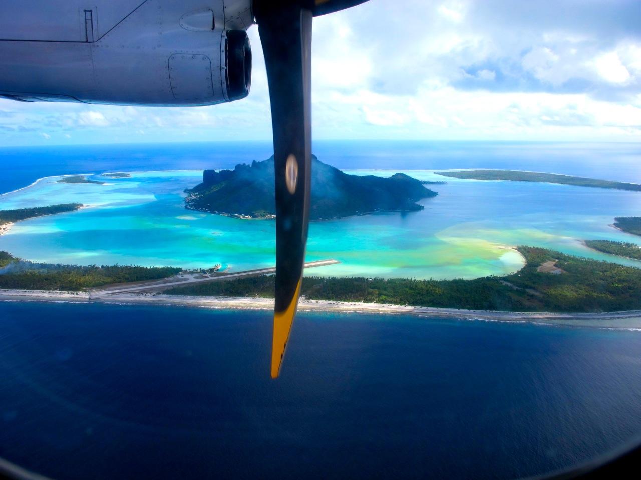 Luftaufnahme Bora Bora