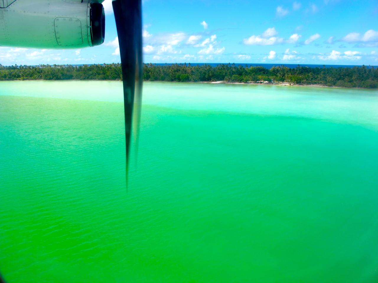 Maupiti aerial photograph 3