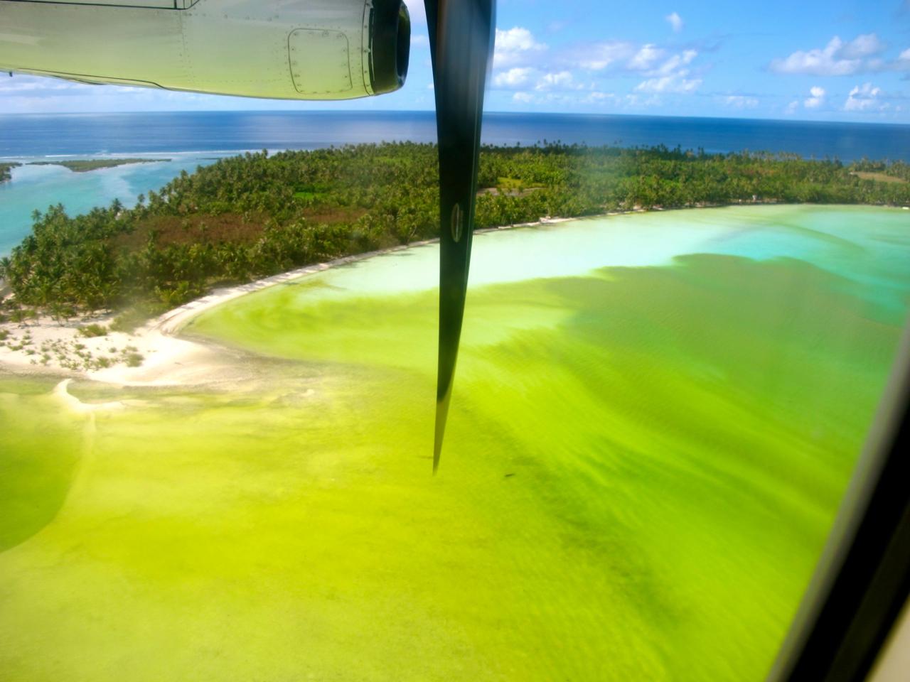 Maupiti aerial photograph