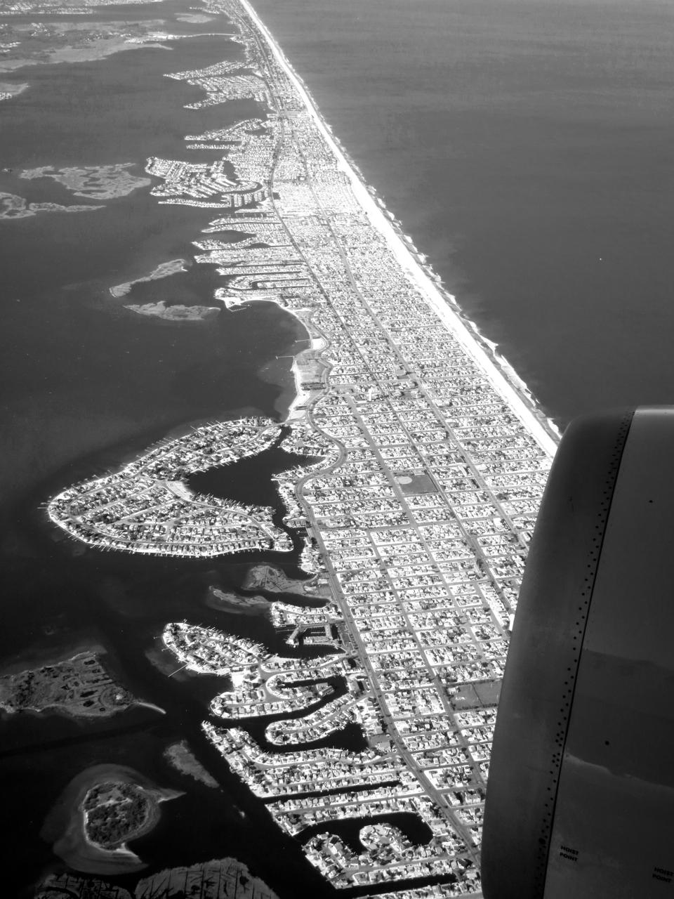 New York aerial photograph