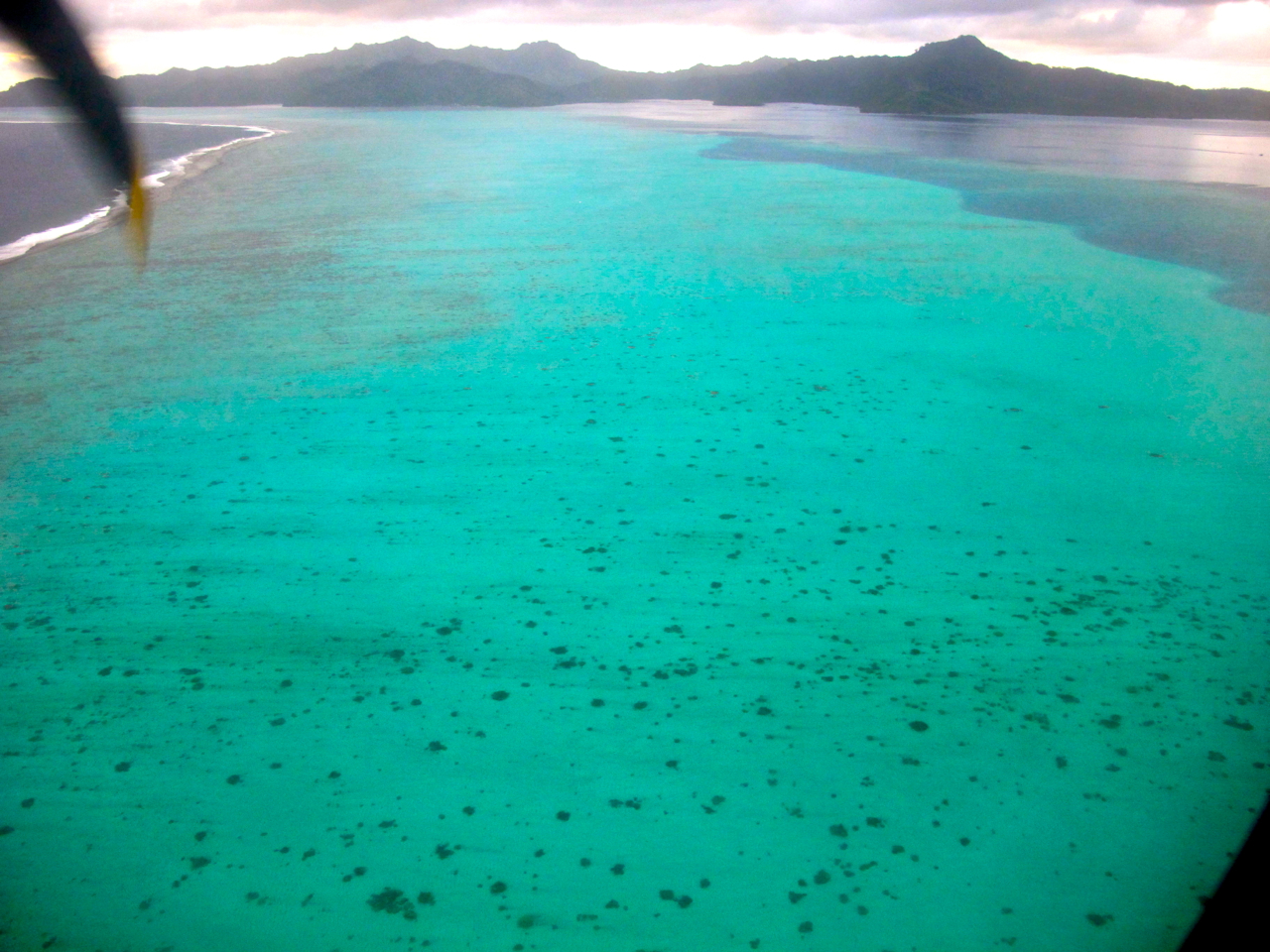 Raiatea aerial photograph