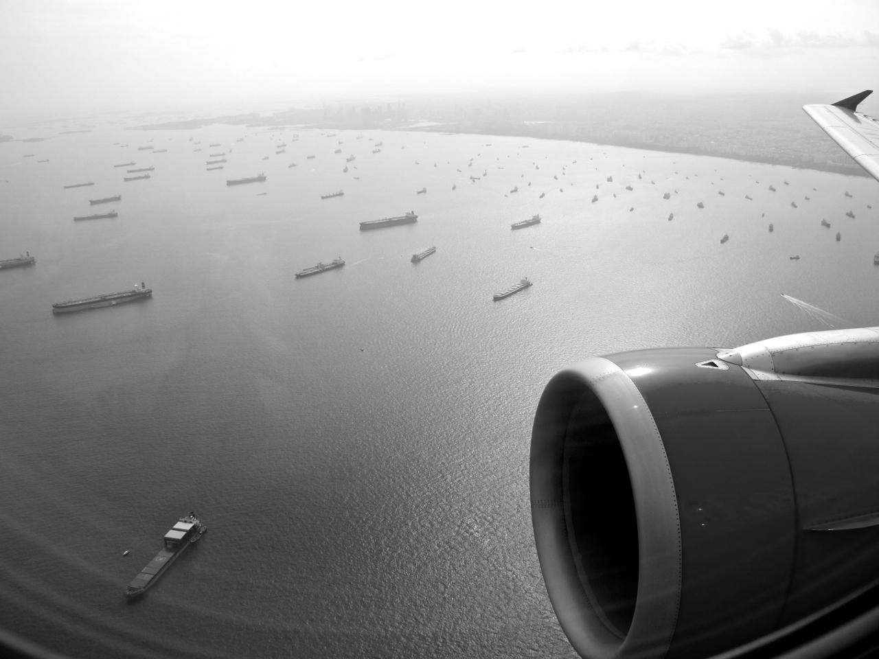 Singapore aerial photograph