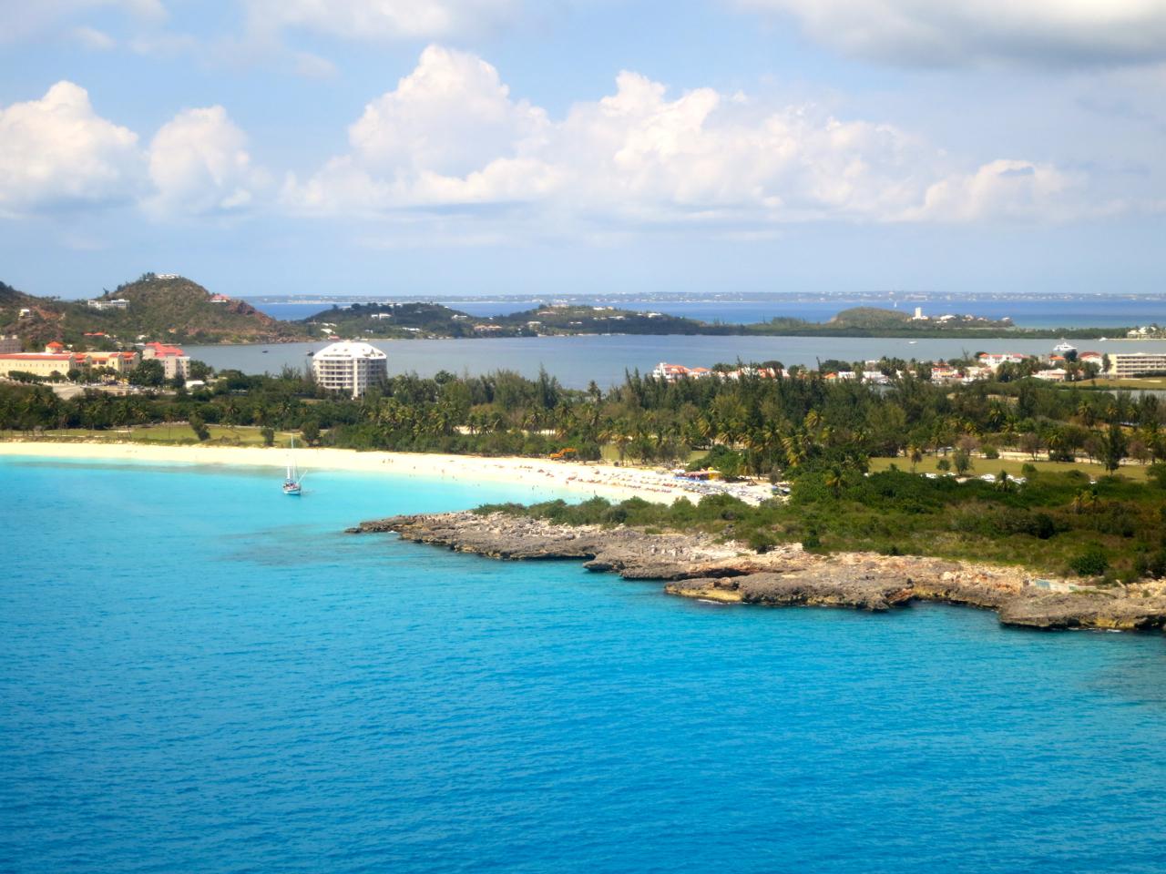 St. Maarten aerial photograph
