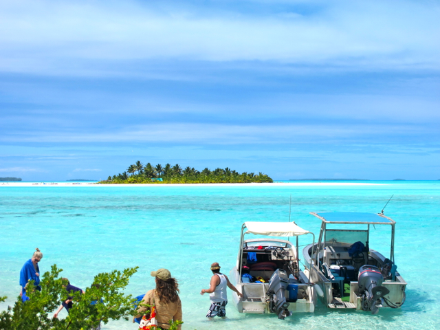 Lagooncruise Aitutaki, Cook Islands