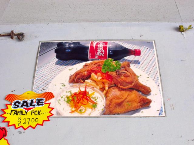 So sieht ein Essen aus, das ich mir nicht leisten konnte.