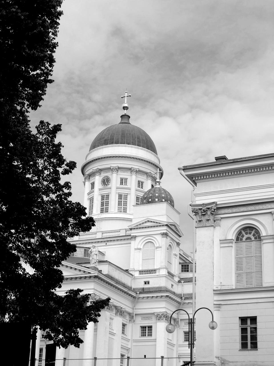 Der Helsinki Dom - das Wahrzeichen der Stadt.
