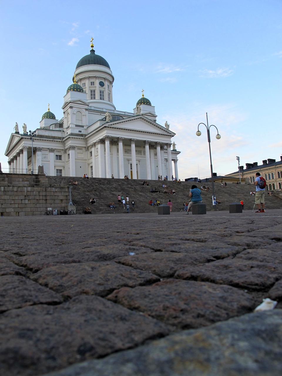Der Dom von Helsinki in seiner ganzen Pracht.