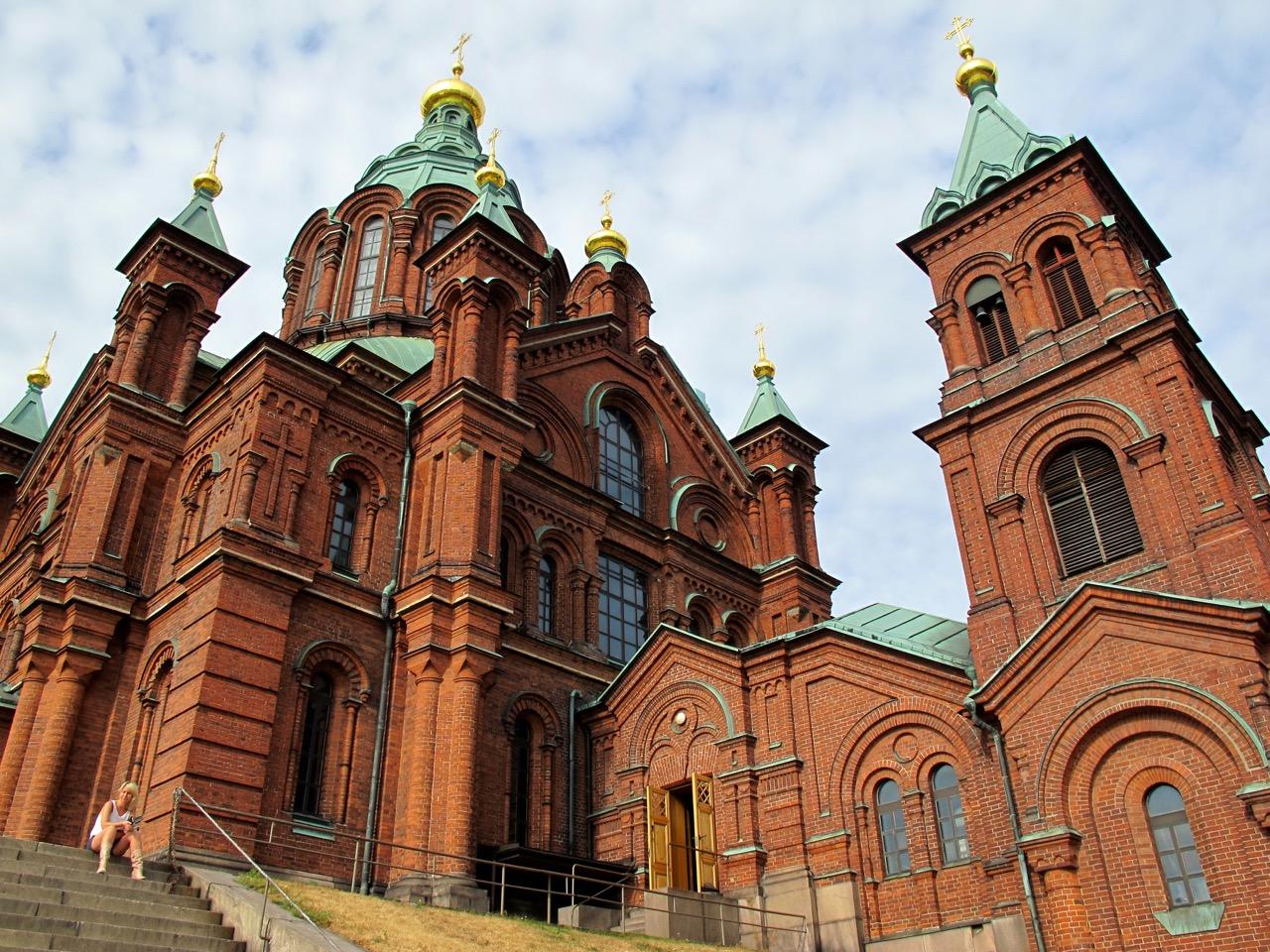 Die Uspensky Kathedrale - eine beeindruckende Kirche.