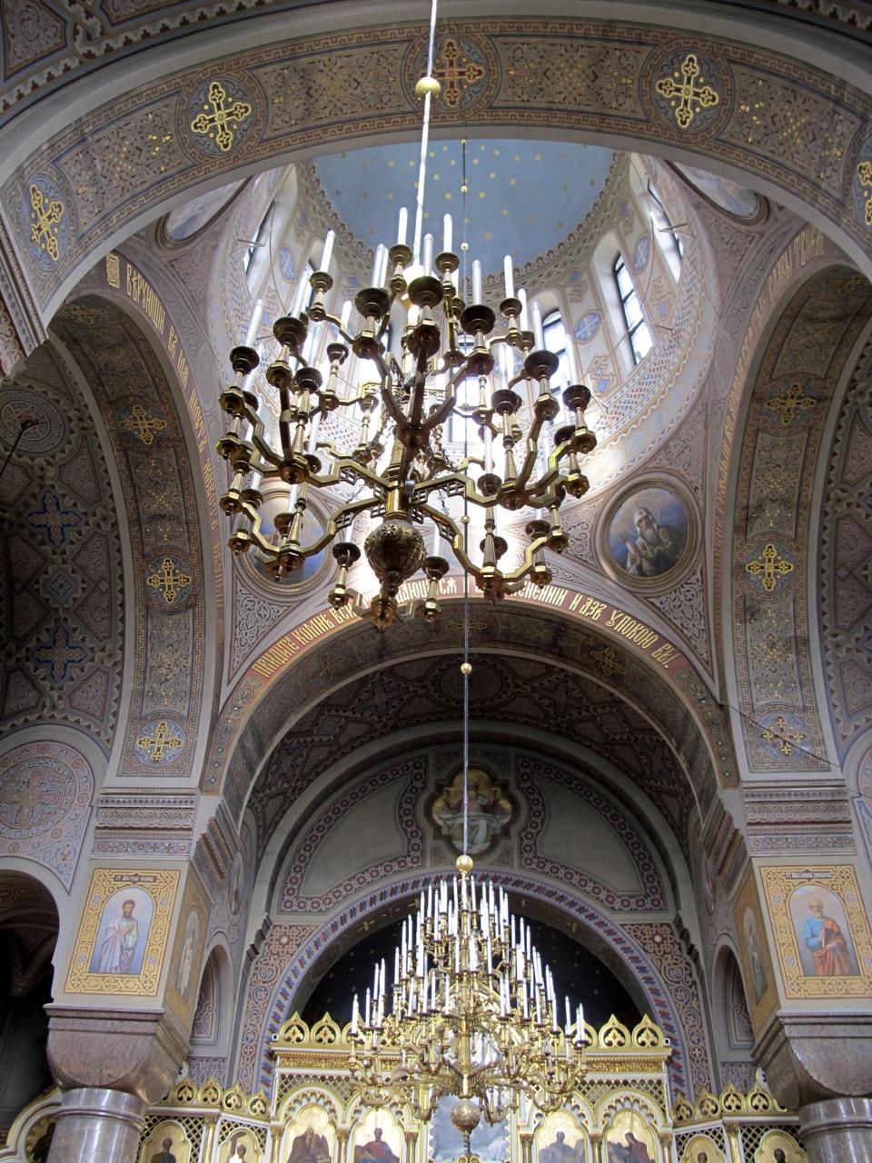 Die wunderschöne Kuppel von Innen.