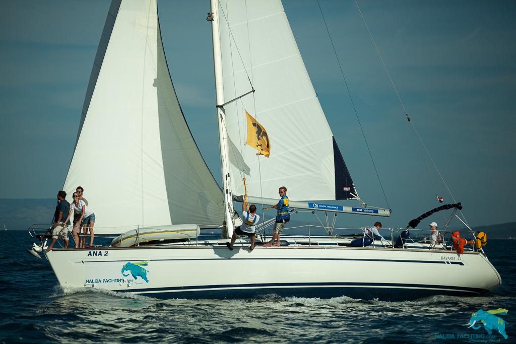 Per Segelboot durch die Adria