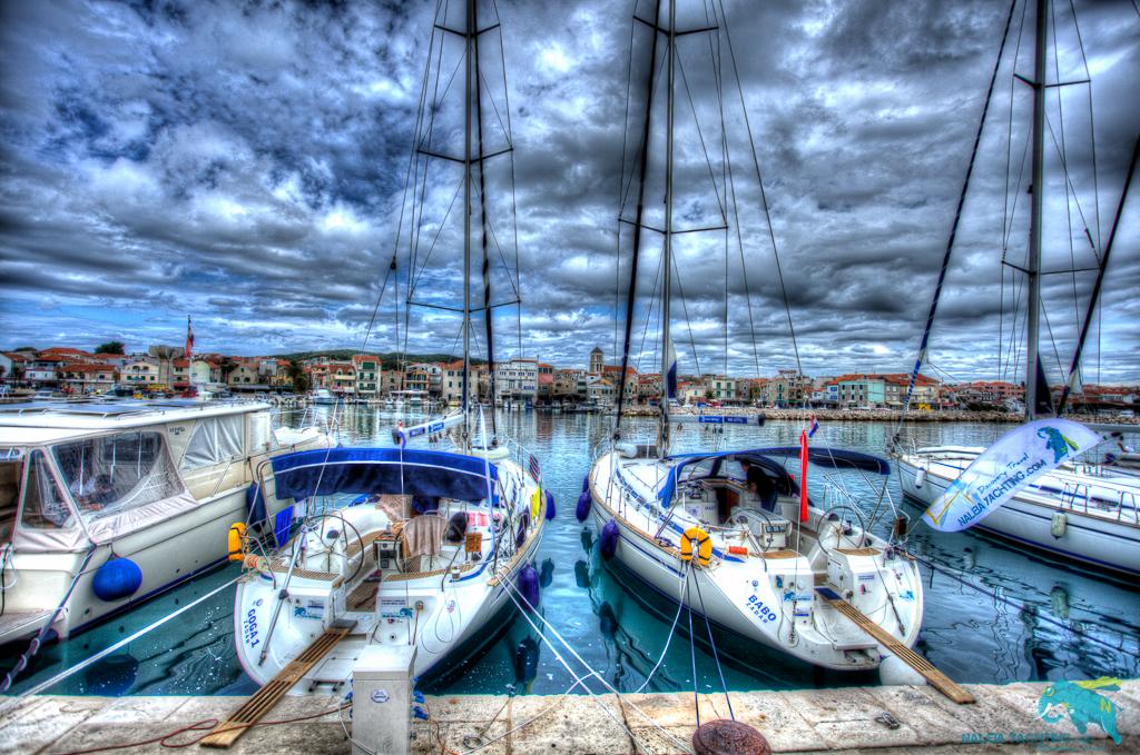 Segelyacht Kroatische Küste
