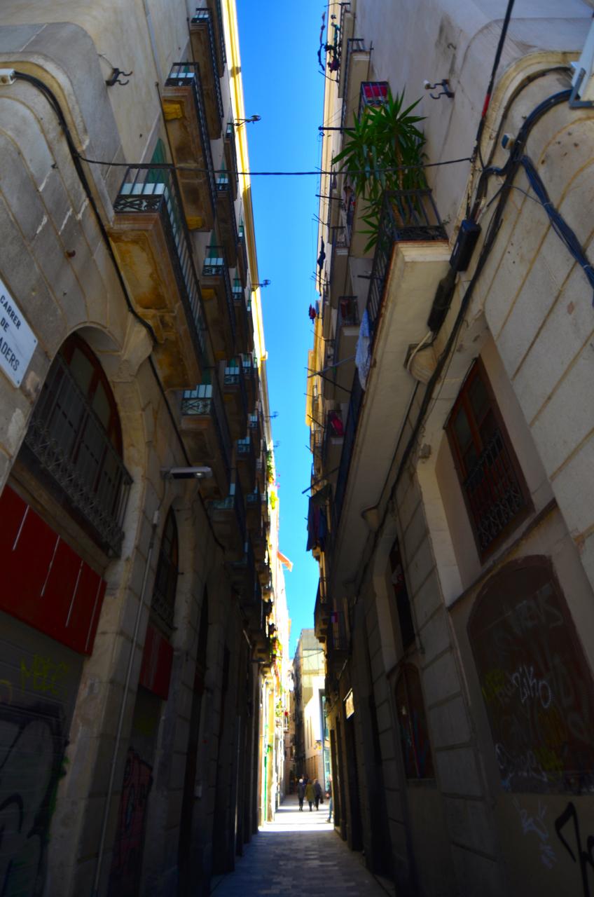 Bario Gotic - Das Gotische Viertel Barcelonas