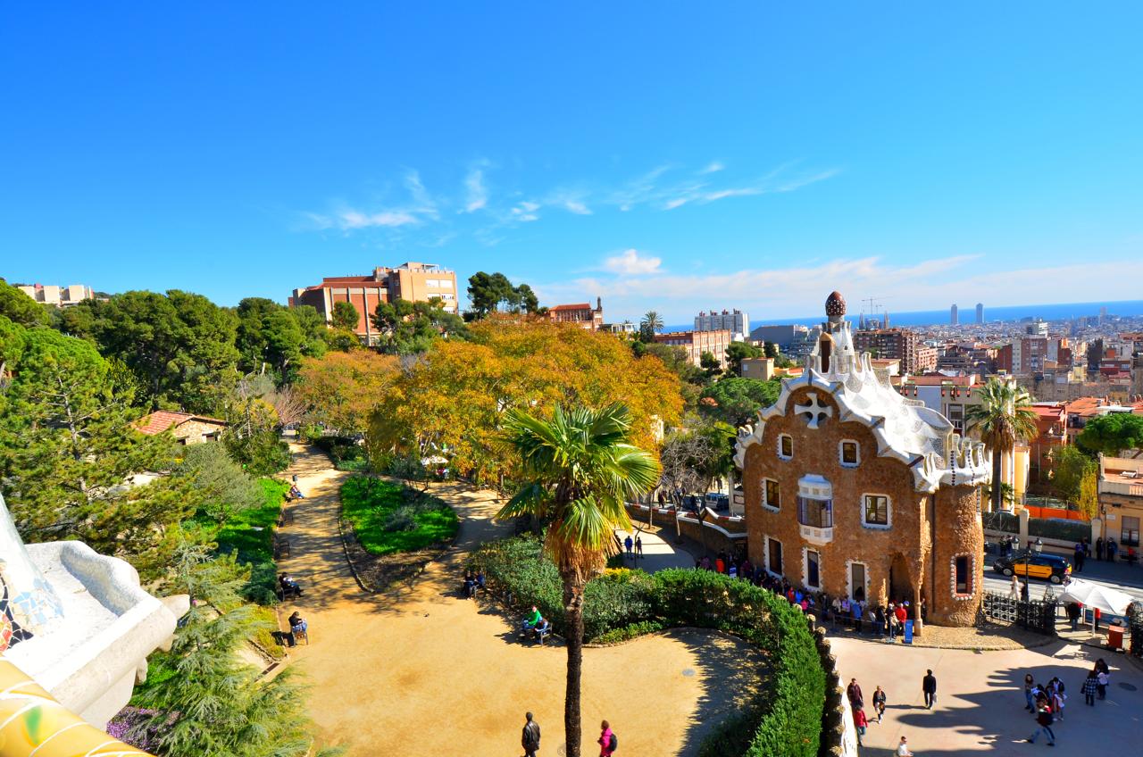 Der Park Güell Barcelona - Gaudis Werk und einen vollen Nachmittag wert.