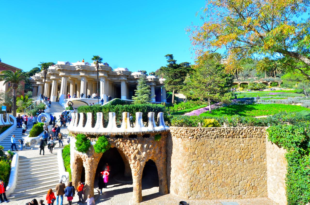 Gaudis Kreativität in der Gestaltung Barcelonas kannte keine Grenzen.
